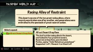 All-out Desert Drag Race