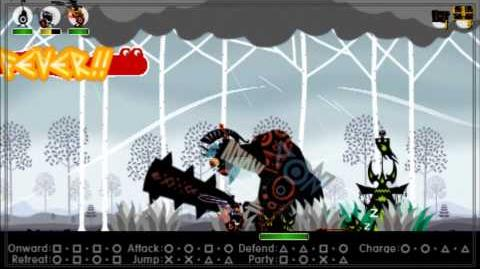 Patapon 3 Walkthrough pt 6 Field of Angry Giants - Birch Bonedeath Brigade