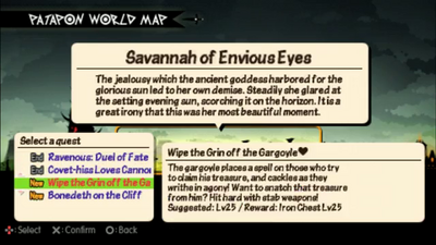 Wipe the Grin off the Gargoyle