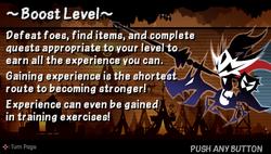 Boost level