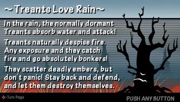 Treants love rain