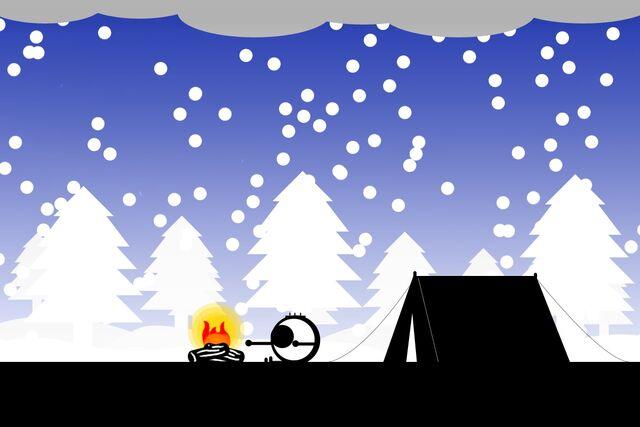 File:Camping in Snow.jpg