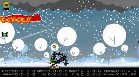 Patapon 3 Yumiyacha VS Ultimate Dragon Kachindonga Strictly Solo