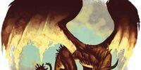 Flame drake