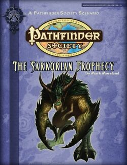 The Sarkorian Prophecy Cover