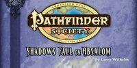 Shadows Fall on Absalom