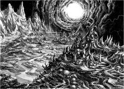Evil landscape