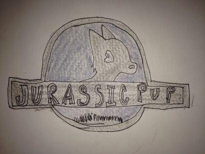 Jurassic Pup Logo
