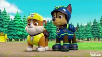 Rubble MV Bitter Sweet Symphony The Verve Paw Patrol