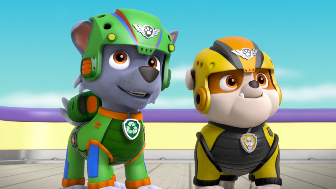 Paw Patrol Rubble Costume For A Dog
