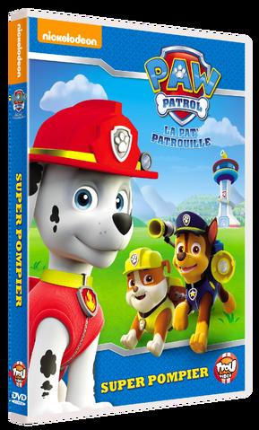 File:PAW Patrol La Pat' Patrouille Super pompier DVD.png