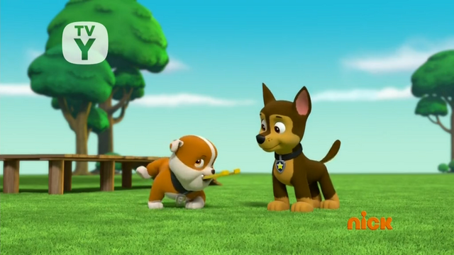 File:Chase and Rubble throwing Horse shoes.png