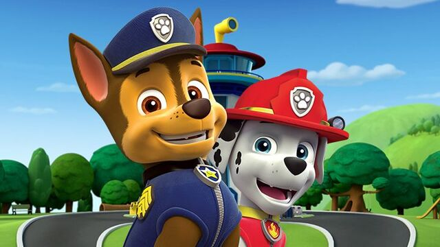 File:Paw Patrol Characters - Chase and Marshall.jpg
