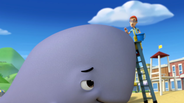 File:PAW Patrol - Baby Whale and Cap'n Turbot - Very Big Baby 2.png