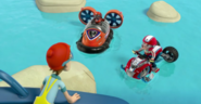 PAW Patrol Cap'n Turbot Captain Ryder Zuma Pups Make a Splash