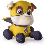 PAW Patrol Super Hero Plush, Rubble 1