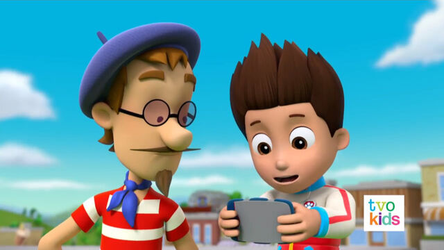 File:PAW Patrol Pups Save the Critters Ryder and Francois Turbot 2.jpg