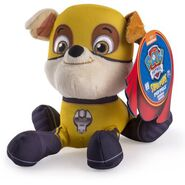 PAW Patrol Super Hero Plush, Rubble 2