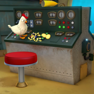 Chickaletta and potato chips on the Diving Bell control panel lead to trouble for Seabee in