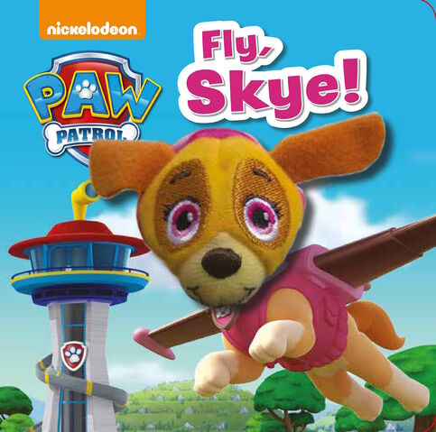 File:PAW Patrol Fly, Skye! Book Cover.jpg