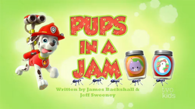 File:PAW Patrol Pups in a Jam Title Card.png
