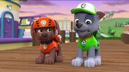 PAW Patrol Monkey-naut Scene Rocky Zuma