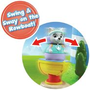 PAW Patrol Weebles Rowboat Toy
