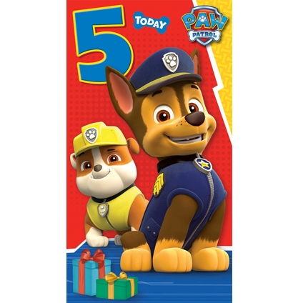 Image - Birthday card- 5 year old.jpg | PAW Patrol Wiki ...