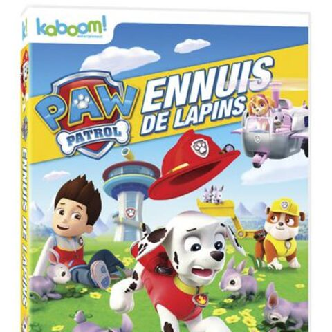 Canadian French cover (<i>Ennuis de lapins</i>)