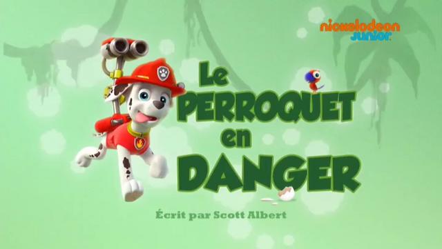 File:PAW Patrol La Pat' Patrouille Le Perroquet en danger.png