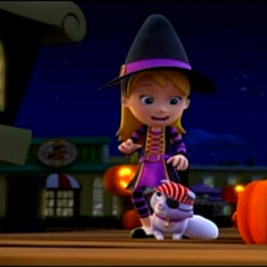 Witch costume (Halloween only)