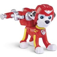 PAW Patrol Air Rescue Marshall, Pup Pack and Badge