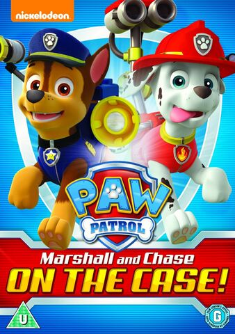 File:PAW Patrol Marshall and Chase on the Case! DVD UK.jpg
