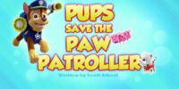 Pups Save the PAW Patroller