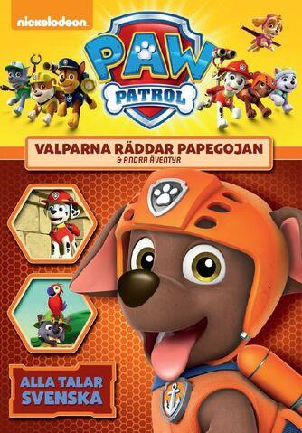 File:PAW Patrol Valparna räddar papegojan & andra äventyr DVD.jpg