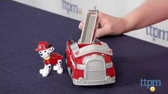 Paw Patrol Marshall's Fire Fightin' Truck from Spin Master