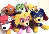 PAW Patrol Pup Pals - Super Pups Plush Figures Set