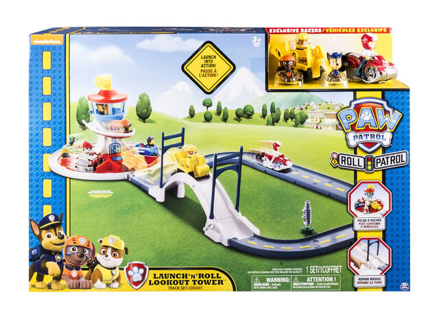 File:PAW Patrol Launch 'n' Roll Lookout Tower Track Playset.jpeg