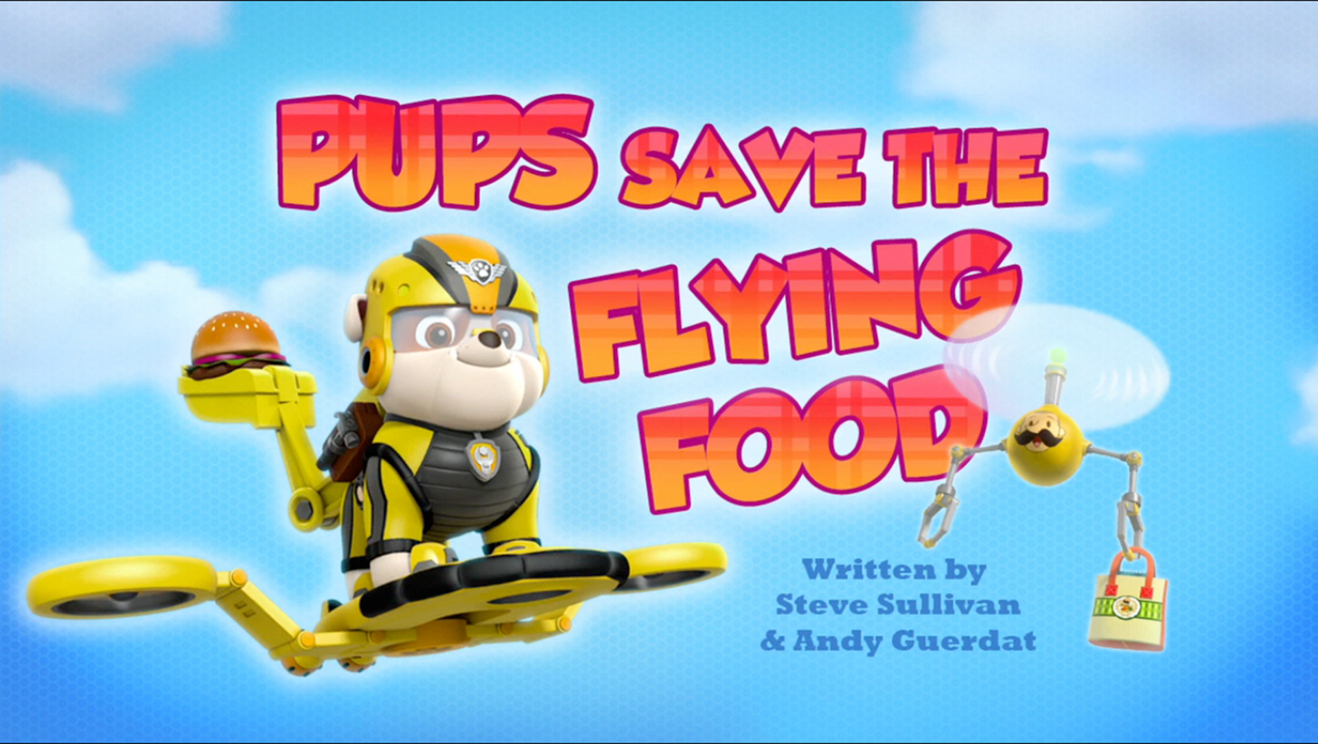 Pups Save The Flying Food Paw Patrol Wiki Fandom