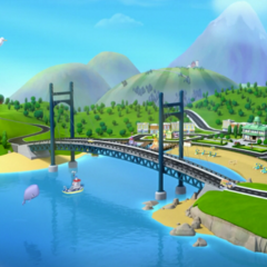 Adventure Bay: Where the PAW Patrol and the residents live.