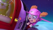 PAW Patrol Monkey-naut Scene Skye