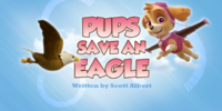 Pups Save an Eagle