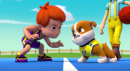 PAW Patrol Pups Save a Basketball Game Rubble and Cap'n Turbot Error