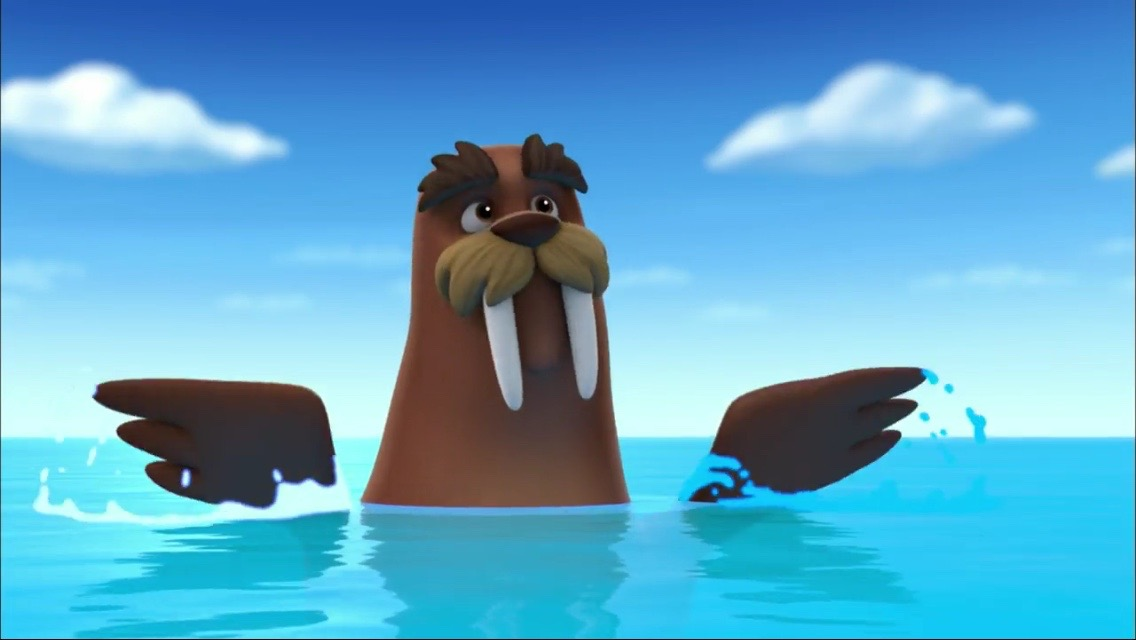 File:PAW_Patrol_ _Wally_the_Walrus_ _Flippers on Fairly Oddparents Episodes