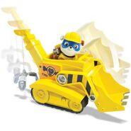 PAW Patrol Super Pup Rubble Crane, Vehicle and Figure