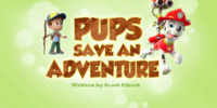Pups Save an Adventure