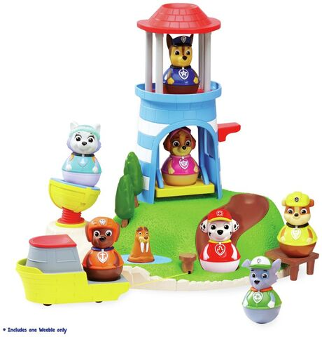 File:PAW Patrol Seal Island Lighthouse Weebles Playset with the Flounder, Wally and Row Boat.jpeg