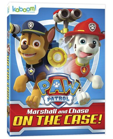 File:PAW Patrol Marshall and Chase on the Case! DVD Canada.jpg