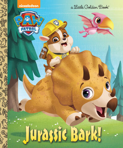 File:PAW Patrol Jurassic Bark! Book Cover.jpg