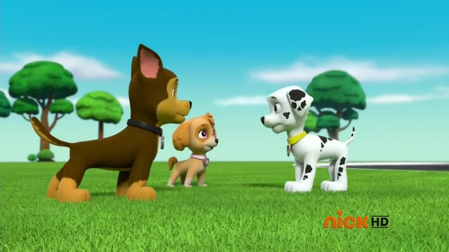 File:Skye and Chase Telling Marshall to Shush.png